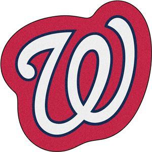 Fan Mats MLB Washington Nationals Mascot Mat
