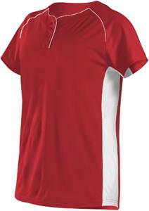 7ef31263f Alleson Women Girls Two Button Fastpitch Jersey - Baseball Equipment ...