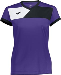 Joma Womens Crew II V-Neck Jersey Tee. Printing is available for this item.