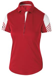 Holloway Ladies Arc Polo. Embroidery is available on this item.