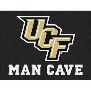 FANMATS NCAA University of Central Florida Knights Vinyl 2-Pack Utility Mats