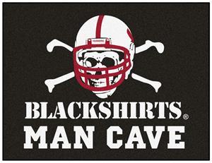 Fan Mats Nebraska Blackshirt Man Cave All-Star Mat