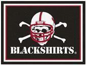 Fan Mats NCAA Nebraska Blackshirts 8'x10' Rug