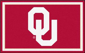 Fan Mats NCAA University of Oklahoma 4'x6' Rug
