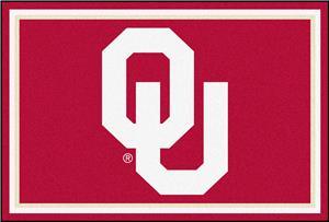 Fan Mats NCAA University of Oklahoma 5'x8' Rug