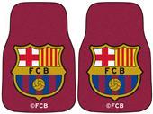 Fan Mats MLS FC Barcelona Carpet Car Mats (set)