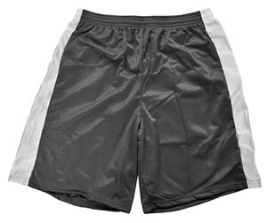 "9"" Inseam Mens Mesh Shorts Black/White Only- CO"