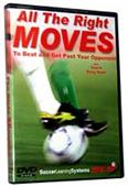 All The Right Moves (DVD) - soccer training videos