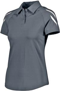 Holloway Ladies Flux Polo. Embroidery is available on this item.