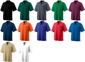 Augusta Adult Wicking Mesh Sport Shirt - Closeout