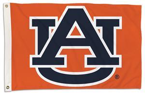 College Auburn Tigers 2'x3' Flag w/Grommet