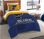 Northwest NHL Blues Twin Comforter & Sham