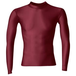 A4 Long Sleeve Compression Crew Shirts CO