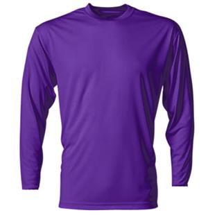 A4 Cooling Performance Adult Long Sleeve Crew CO