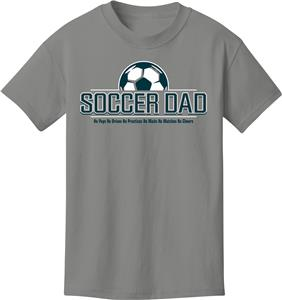 99aa9ba2 Utopia Soccer Dad T-Shirt - Soccer Equipment and Gear