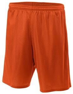 "A4 N5375 Adult 9"" Mesh Shorts W/Pocket - Closeout"