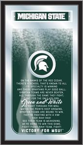Holland Michigan State Univ Fight Song Mirror. Free shipping.  Some exclusions apply.