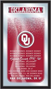 Holland Oklahoma University Fight Song Mirror. Free shipping.  Some exclusions apply.