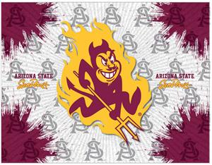 Holland Arizona St. Sparky Logo Printed Canvas Art. Free shipping.  Some exclusions apply.