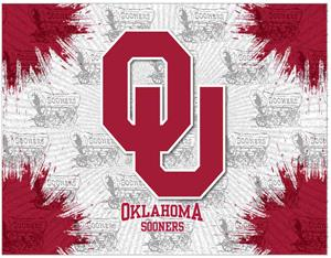 Holland Oklahoma Univ Logo Printed Canvas Art. Free shipping.  Some exclusions apply.