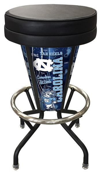 Marvelous Holland Univ Of North Carolina Lighted Bar Stool Unemploymentrelief Wooden Chair Designs For Living Room Unemploymentrelieforg