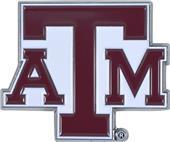 Fan Mats NCAA Texas A&M Colored Vehicle Emblem