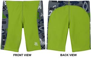 945a0cc005 Tuga Sunwear Boys Jammer Swim Shorts - Swimming Equipment and Gear