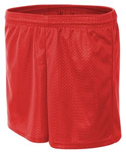 "A4 Adult P5115 6"" Inseam Mesh Shorts Closeout"