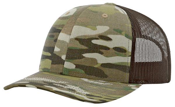 67752771 Home Cheer Military & Patriotic E128148 Richardson 862 Multicam Tactical  Trucker Cap