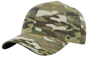 Richardson 863 Structured Multicam Tactial Cap. Embroidery is available on this item.