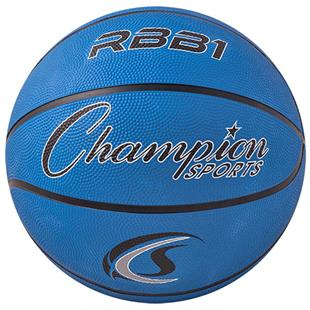Champion Sports Official Size 7 Rubber Basketballs