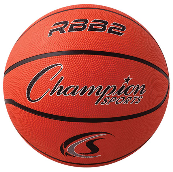 "Champion Sports Junior Size 5 27.5/"" Ultra Grip Composite Rubber Basketball"