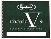 Markwort Mark V Basketball Scorebooks 30 Games