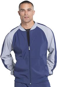 Cherokee Infinity Mens Colorblock Warm-Up Jacket ...