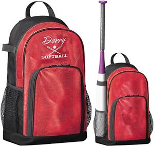 Augusta All Out Glitter Backpack 1106