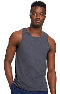 Men's AS & AM  Odor/ Wicking UPF-30 Cotton Tank Top CO