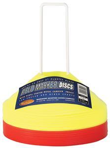 "Markwort 2"" High Saucer Field Marker Disc Cone Set"