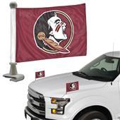 BSI Collegiate Seminoles Ambassador Car Flag (Set)