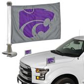 BSI Collegiate K-State Ambassador Car Flag (Set)