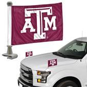 BSI Collegiate Texas A&M Ambassador Car Flag (Set)