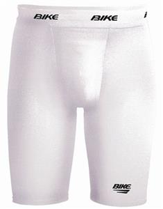 Adult Small White Performance  Compression Short