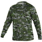 YOUTH Digi Camo Long SLeeve Tech T Shirt