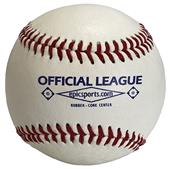 "Epic 9"" Blemished Leather Raised Seam Baseballs DZ"