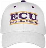 The Game ECU Snapback College Bar Cap (dz)