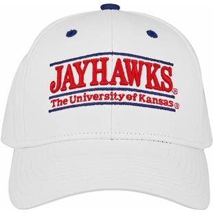 36e46ed3b54f4 The Game Kansas Snapback Nickname Bar Cap (dz)