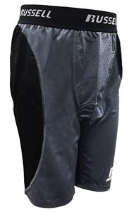 Russell  Mens Compression Hamstring Shorts C/O