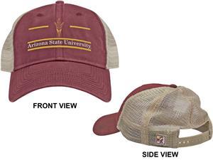 The Game Arizona State Snapback Split Bar Cap (dz)