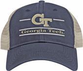 The Game Georgia Tech Snapback Split Bar Cap (dz)