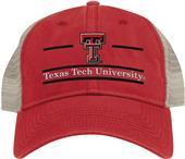 The Game Texas Tech Snapback Split Bar Cap (dz)