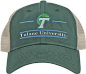 The Game Tulane Snapback Split Bar Cap (dz)